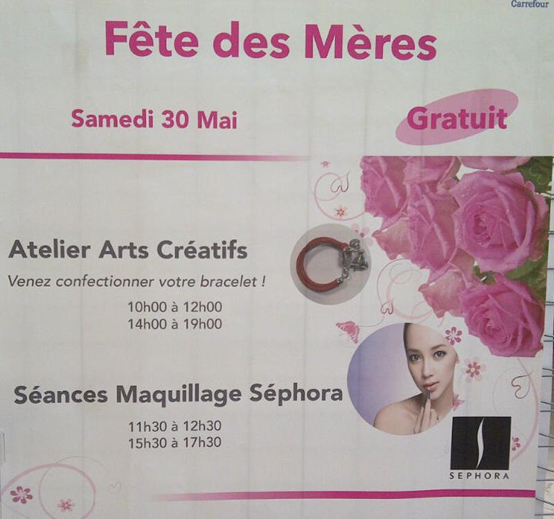 Atelier SPECIAL Fête des Mères à Quimper