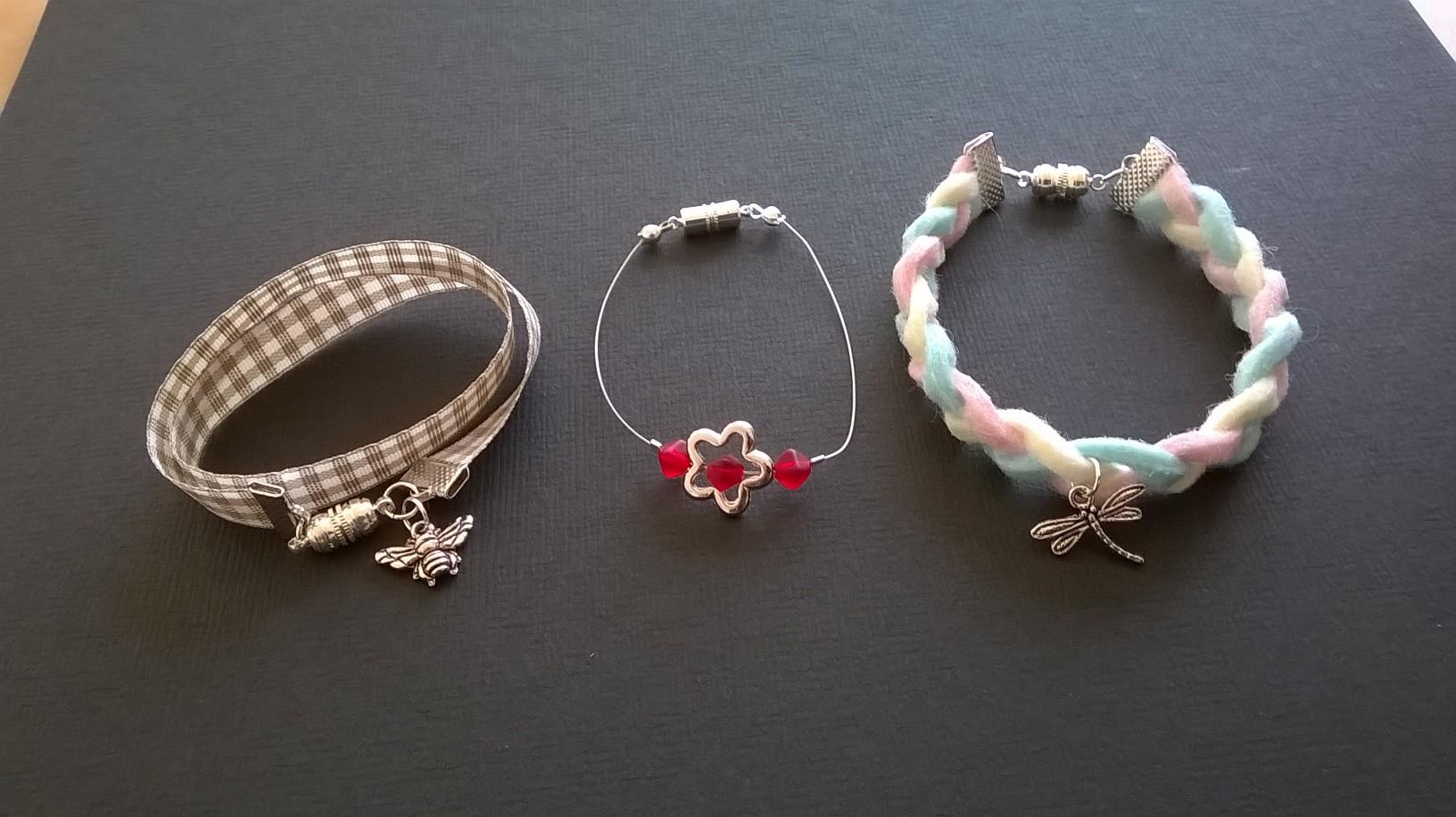 Fils Croisés - { Ateliers } libres - Bracelets