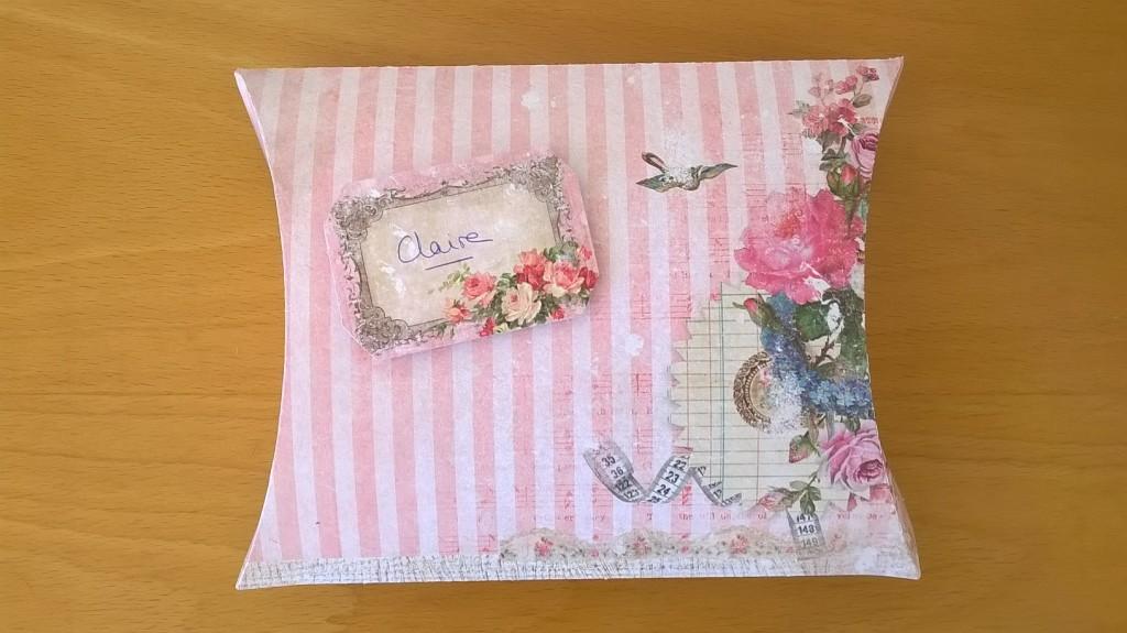 Boîte - Petits cadeaux de départ pour Claire