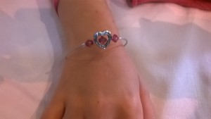 Bracelet Cœur de Lily Rose - 7 ans