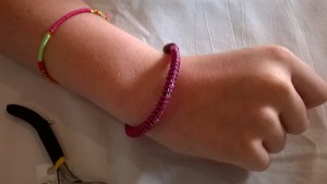 Bracelet Violet d'Estelle - 12 ans