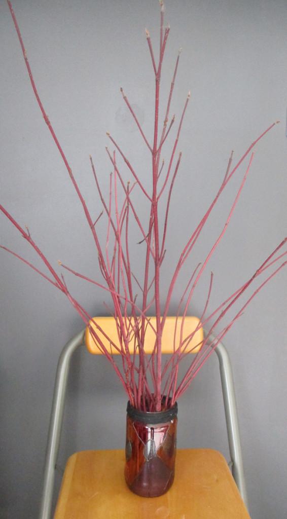 Vase en peinture Vitrail Transparent