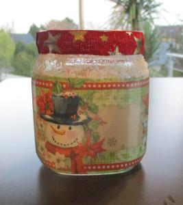 Photophore Christmas Sleeves