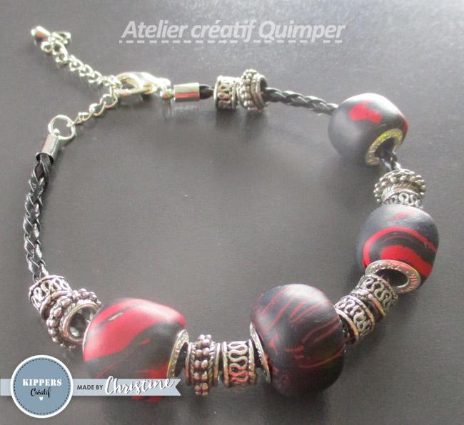 Tutoriel Bracelet de perles en pâte Pardo