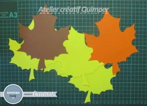 Tutoriel Guirlande lumineuse de feuilles d'automne