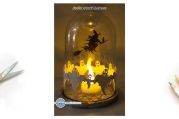 Tutoriel Dôme lumineux pour Halloween
