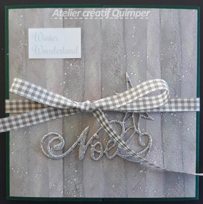 Mini Album de Noël Winter Wonderland