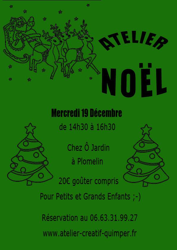 Atelier de décoration de Noël à Plomelin