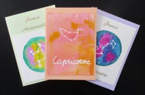 Quelques cartes au signe du Zodiaque