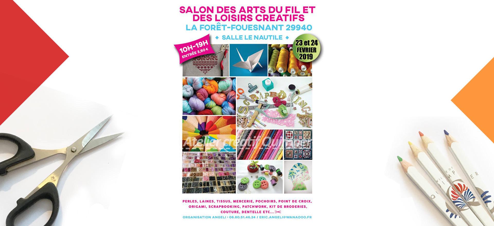 Photo du Salon des Loisirs Créatifs de La Forêt-Fouesnant