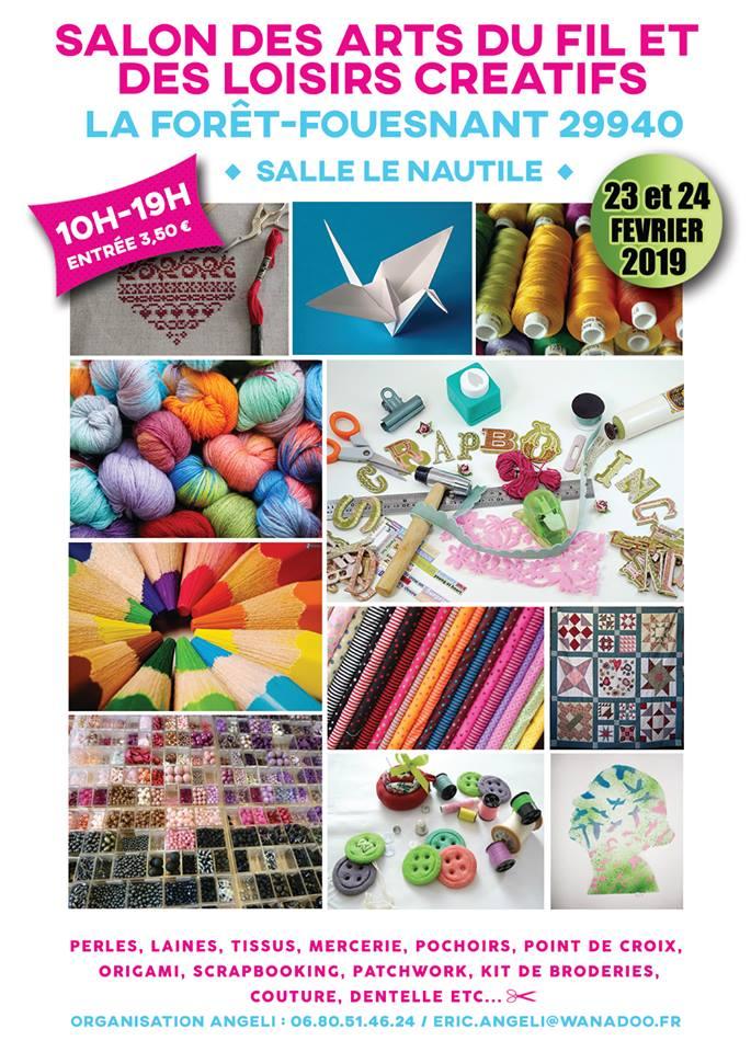 Salon des Loisirs Créatifs à La Forêt-Fouesnant (29)