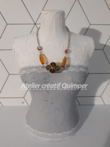 Collier Boule de perles