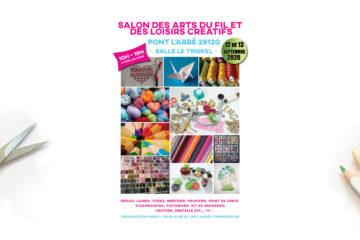 3 invitations à gagner pour le Salon des Loisirs Créatifs de Pont l'Abbé
