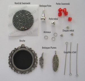 Tutoriel Kit Broche Vintage