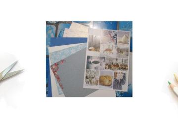 Kits pour cartes de vœux 2021