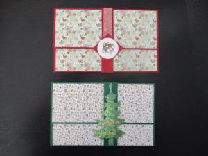 Série de Cartes pour Chèque Cadeau