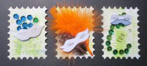 Carnaval pour mes ATC Stamp