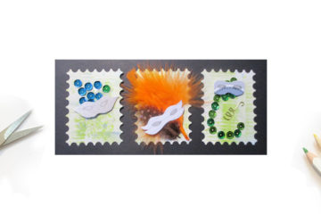 Carnaval pour mes ATC Stamp