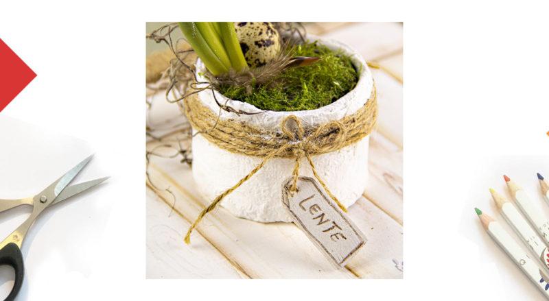 DIY Décorer votre pot de fleurs