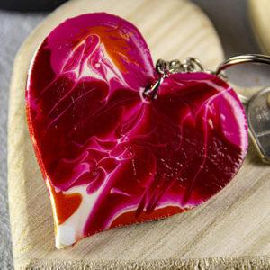 DIY Un porte-clefs flamboyant pour la Saint Valentin