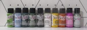 Peintures et articles tissus à vendre