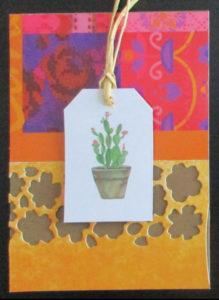 des cactus pour mes ATC